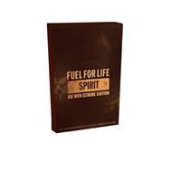 FUEL FOR LIFE SPIRIT VOLUME 75ML VOLUME 75ML USE WITH EXTREME CAUTION EAU DE TOILETTE POUR HOMME E75 ML 2.5 FL.OZ. VAPORSATEUR NATURAL SPRAY