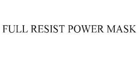 FULL RESIST POWER MASK