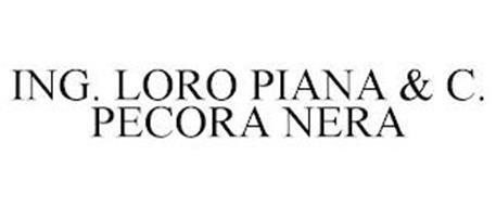 ING. LORO PIANA & C. PECORA NERA