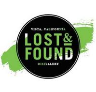 VISTA, CALIFORNIA LOST & FOUND DISTILLERY