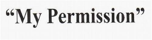 """MY PERMISSION"""