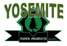 YOSEMITE PAPER PRODUCTS EST. 2015