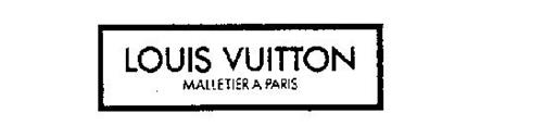 LOUIS VUITTON MALLETIER A PARIS
