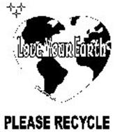 LOVE YOUR EARTH PLEASE RECYCLE LOVE WAVE INC.