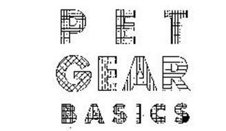 PET GEAR BASICS
