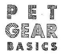 PET GEAR BASICS