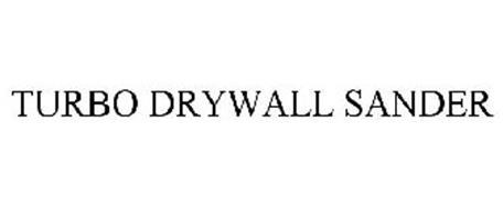 TURBO DRYWALL SANDER