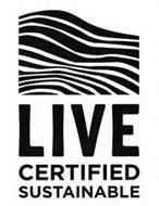 LIVE CERTIFIED SUSTAINABLE
