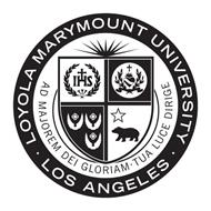 LOYOLA MARYMOUNT UNIVERSITY LOS ANGELES AD MAJOREM DEI GLORIAM TUA LUCE DIRIGE