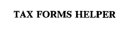 TAX FORMS HELPER Trademark of LSC COMMUNICATIONS US, LLC. Serial ...