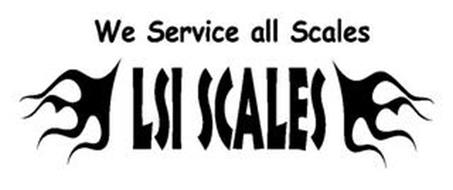 WE SERVICE ALL SCALES LSI SCALES