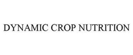 DYNAMIC CROP NUTRITION