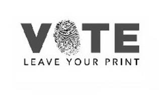 VOTE LEAVE YOUR PRINT