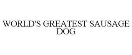 WORLD'S GREATEST SAUSAGE DOG