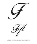 G GIFT GREAT INTELLIGENCE FOR TRIUMPH