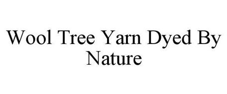 WOOL TREE YARN DYED BY NATURE