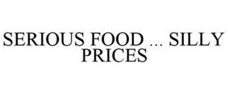 SERIOUS FOOD ... SILLY PRICES