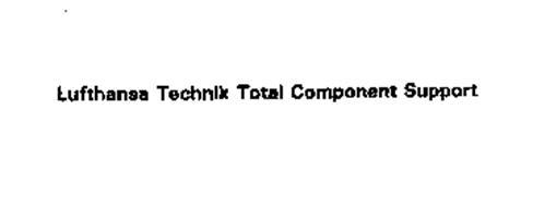 LUFTHANSA TECHNIK TOTAL COMPONENT SUPPORT