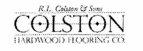 R l colston sons colston hardwood flooring co for Rl colston flooring