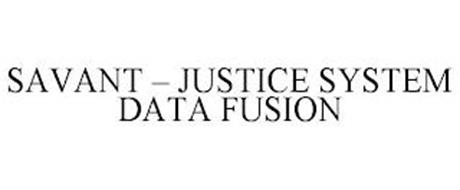 SAVANT - JUSTICE SYSTEM DATA FUSION