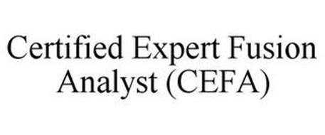 CERTIFIED EXPERT FUSION ANALYST (CEFA)