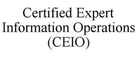 CERTIFIED EXPERT INFORMATION OPERATIONS (CEIO)