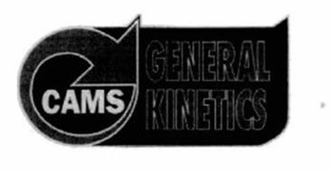 GENERAL KINETICS CAMS