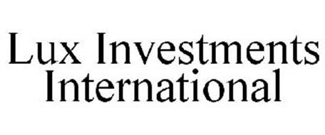 LUX INVESTMENTS INTERNATIONAL
