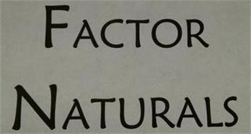 FACTOR NATURALS