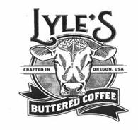 LYLE'S BUTTERED COFFEE CRAFTED IN OREGON, USA