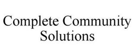 COMPLETE COMMUNITY SOLUTIONS