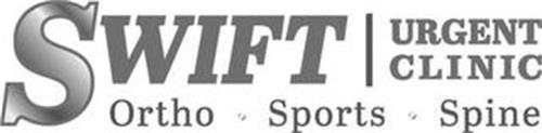 SWIFT URGENT CLINIC ORTHO · SPORTS · SPINE