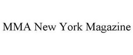 MMA NEW YORK MAGAZINE
