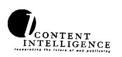 CONTENT INTELLIGENCE RESEARCHING THE FUTURE OF WEB PUBLISHING