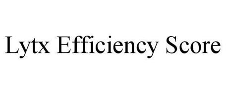 LYTX EFFICIENCY SCORE