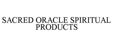 SACRED ORACLE SPIRITUAL PRODUCTS