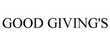 GOOD GIVING'S