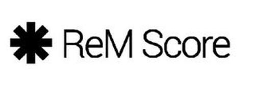 REM SCORE