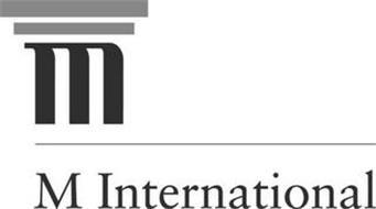 M M  INTERNATIONAL