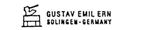 GUSTAV EMIL ERN SOLINGEN-GERMANY