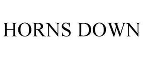 HORNS DOWN