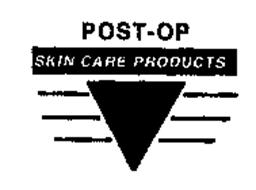 POST-OP SKIN CARE PRODUCTS