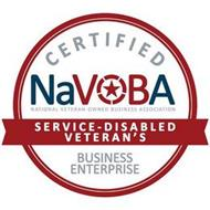 CERTIFIED NAVOBA NATIONAL VETERAN-OWNED BUSINESS ASSOCIATION SERVICE-DISABLED VETERAN'S BUSINESS ENTERPRISE