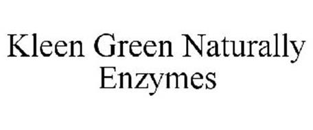 KLEEN GREEN NATURALLY ENZYMES