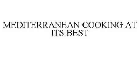 MEDITERRANEAN COOKING AT ITS BEST