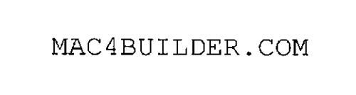 MAC4BUILDER.COM