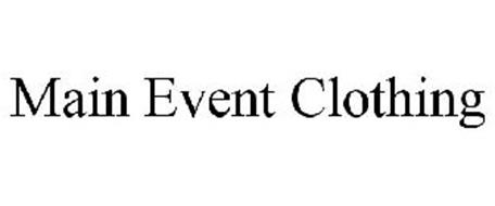 MAIN EVENT CLOTHING