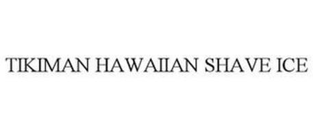 TIKIMAN HAWAIIAN SHAVE ICE