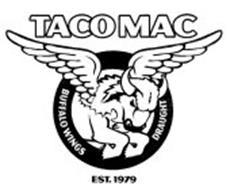 TACO MAC BUFFALO WINGS DRAUGHT EST. 1979