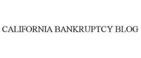 CALIFORNIA BANKRUPTCY BLOG